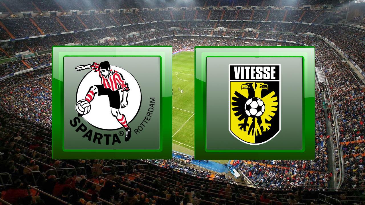 Sparta Rotterdam vs Vitesse