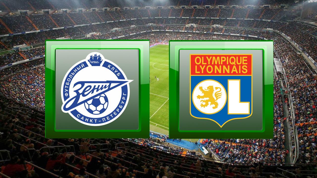 Zenit St Petersburg vs Lyon