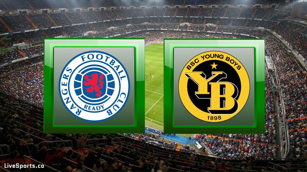 Glasgow Rangers vs Young Boys Bern