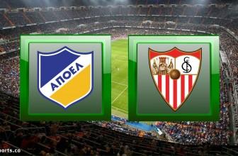 APOEL Nicosia vs Sevilla – Prediction (Europa League – 12.12.2019)