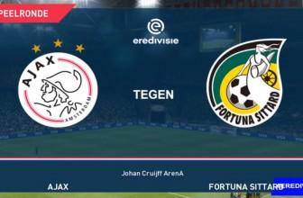 Ajax Amsterdam vs. Fortuna Sittard – Score prediction (25.09.2019)