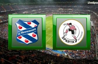 Heerenveen vs. Sparta Rotterdam – Prediction (Eredivisie – 09.11.2019)