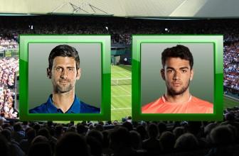 Novak Djokovic vs. Matteo Berrettini – Prediction (ATP London – 10.11.2019)