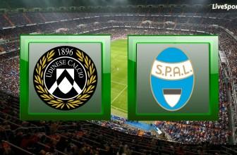 Udinese vs. Spal – Prediction (Serie A – 10.11.2019)