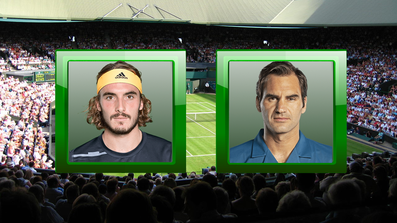 Stefanos Tsitsipas vs Roger Federer