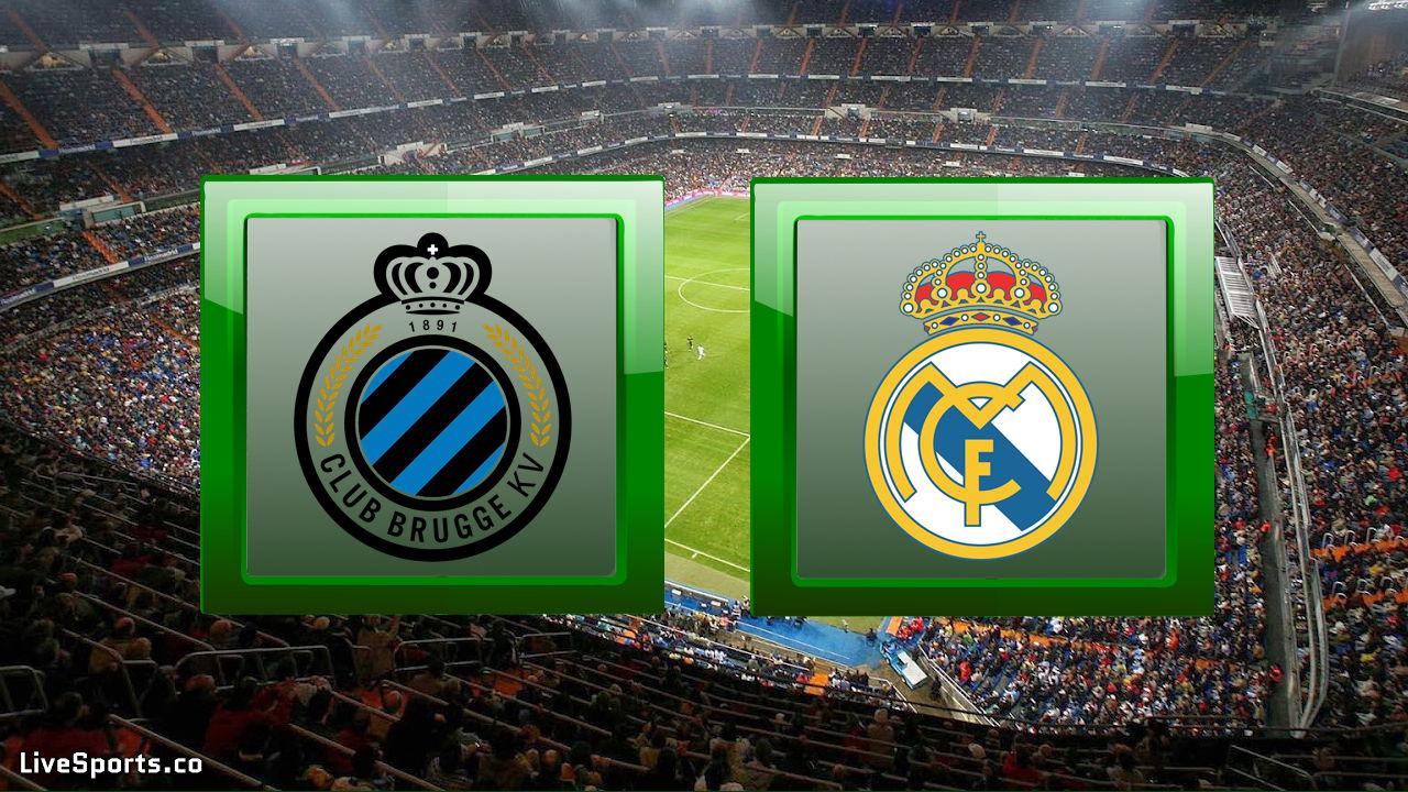 Club Brugge KV vs Real Madrid