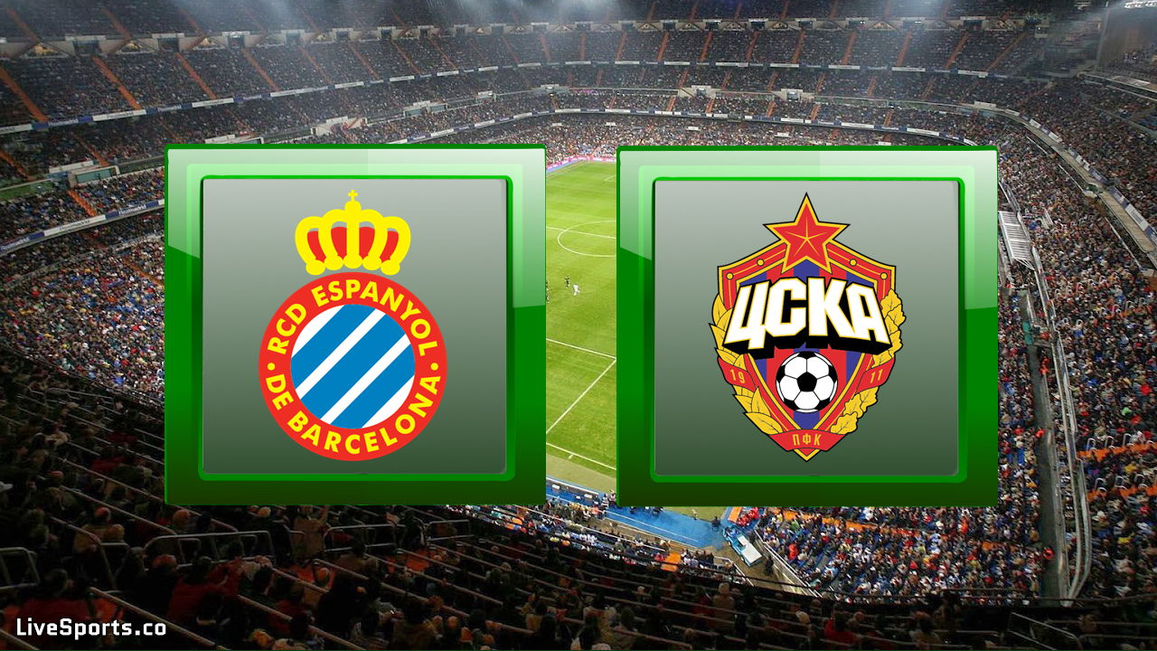 Espanyol Barcelona vs CSKA Moscow
