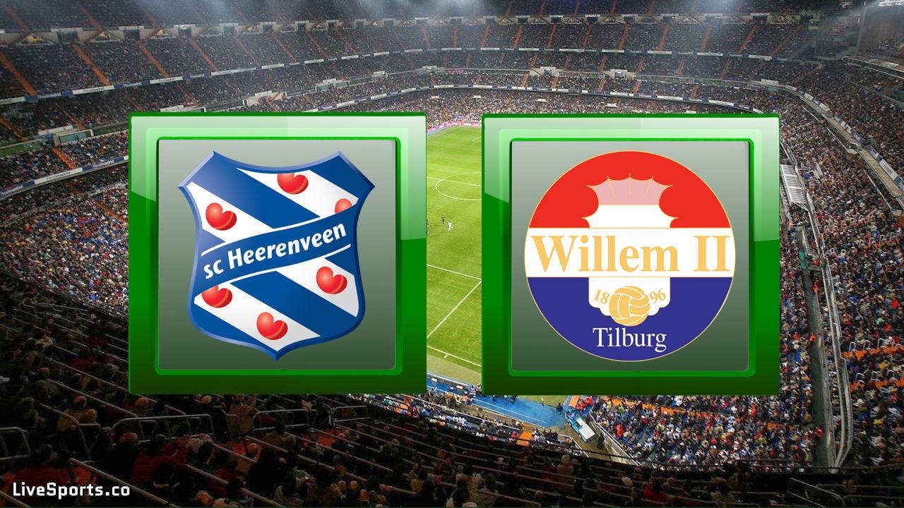 SC Heerenveen vs Willem II Tilburg