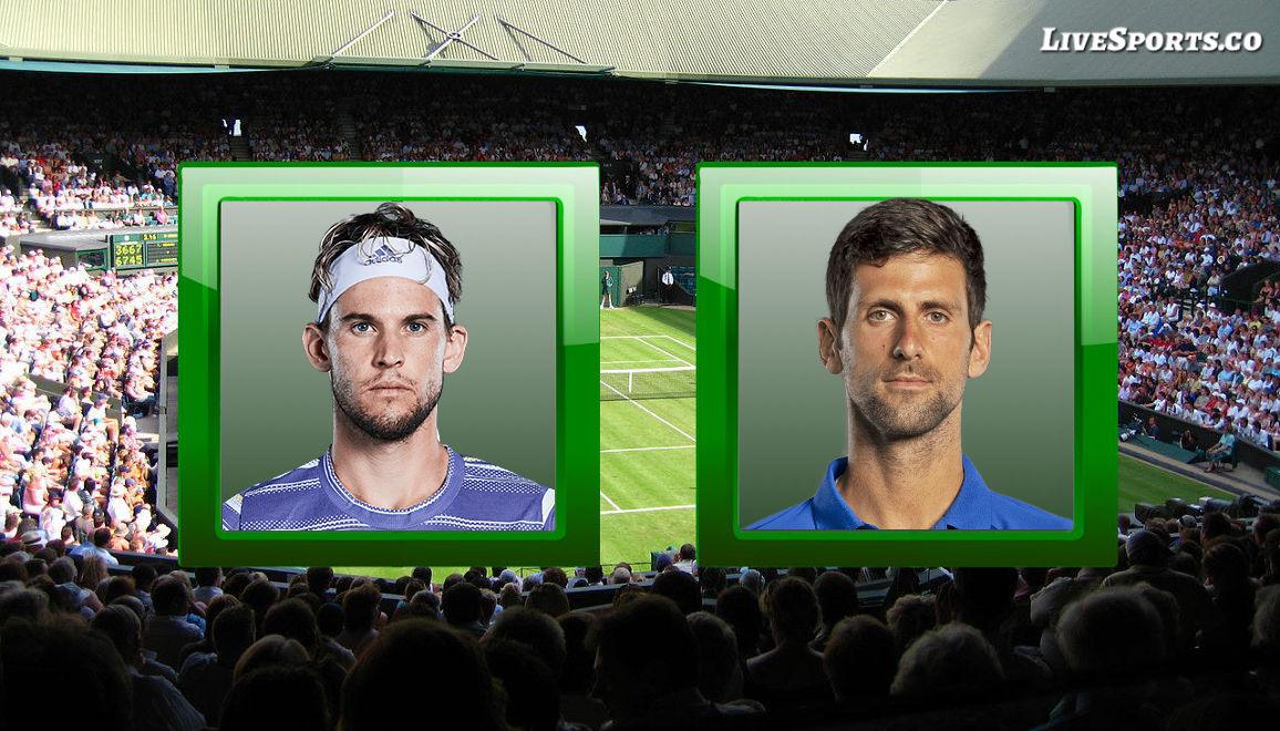 Dominic Thiem vs. Novak Djokovic