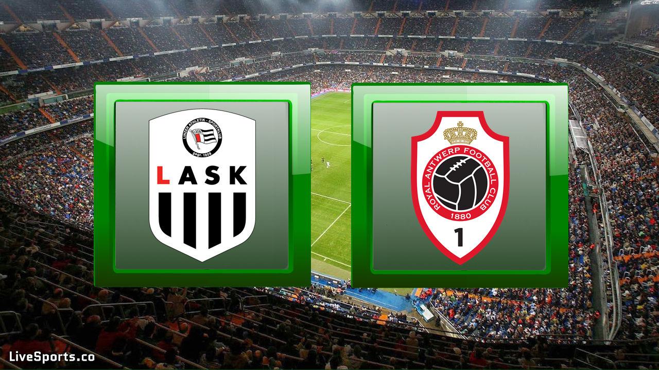LASK Linz vs Antwerp