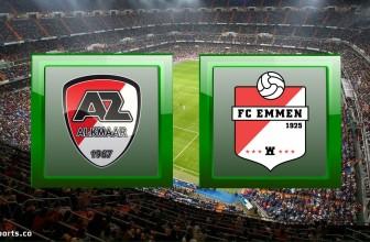 AZ Alkmaar vs Emmen – Prediction (Eredivisie – 22.11.2020)