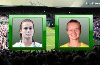 Aryna Sabalenka vs. Barbora Krejcikova – Prediction – WTA Linz (Austria) 14.11.2020