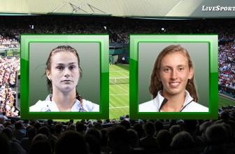 Aryna Sabalenka vs. Elise Mertens – Prediction – WTA Linz (Austria) 15.11.2020