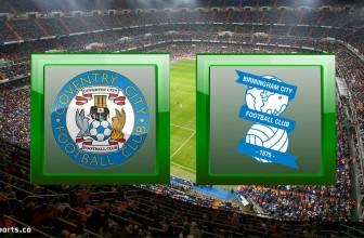 Coventry vs Birmingham – Prediction (Championship – 20.11.2020)