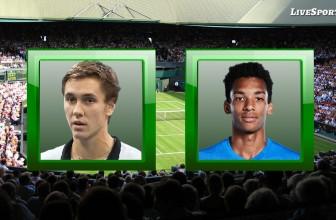 Egor Gerasimov vs. Felix Auger Aliassime – Prediction – ATP Cologne 2 (Germany) 21.10.2020