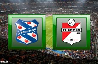 SC Heerenveen vs FC Emmen – Prediction (Eredivisie – 24.10.2020)