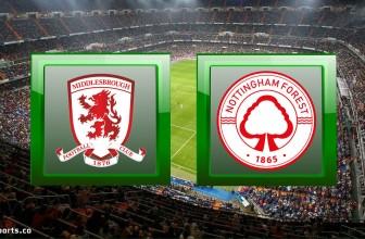 Middlesbrough vs Nottingham Forest – Prediction (Championship – 31.10.2020)