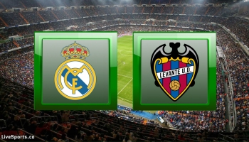 Real Madrid vs Levante – Prediction & Live Scores (La Liga – 30.1.2020)