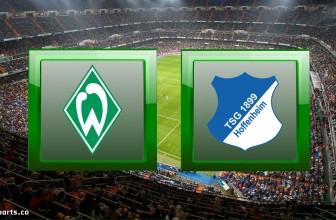 Werder Bremen vs TSG Hoffenheim – Score Prediction (Bundesliga – 25.10.2020)