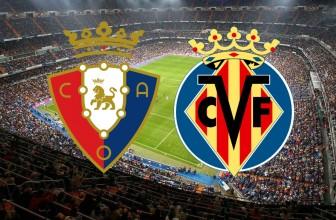 Osasuna vs. Villarreal – Score prediction (05.10.2019)