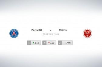 Paris SG vs Reims – Score prediction