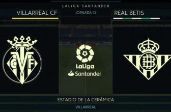 Villarreal vs. Betis – Score prediction (27.09.2019)