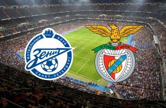 Zenit Saint Petersburg vs. Benfica Lisbon – Score prediction (02.10.2019)